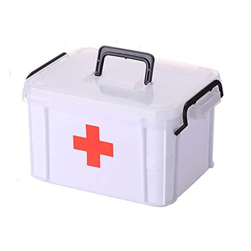 Große Familie Medizinschrank Multi-Layer Medical Emergency Medizin Erhalt Health Box Kunststoff Kinderkoffer