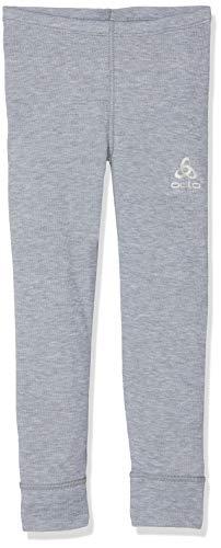 Odlo Kinder Pants Warm Kids Grau (Grey Melange), 164 CM -