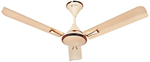 Orient Electric Adena 1200mm Decorative Ceiling Fan (Topaz Gold/Antique Copper)