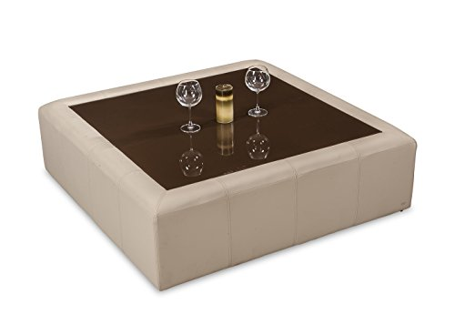 Durian Coffee Table (Matte Finish, Beige)
