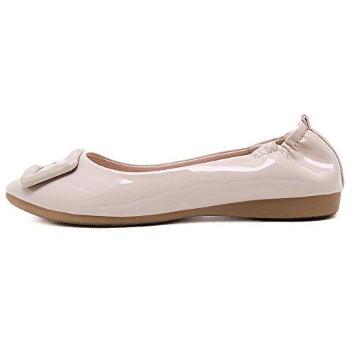 SmilunWbfj001 - Pantofole Donna Kaki