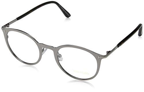 Tom Ford Unisex-Erwachsene Brille FT5465 014 47 Brillengestelle, Gunmetal,