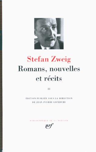 Romans, nouvelles et récits (Tome 2)