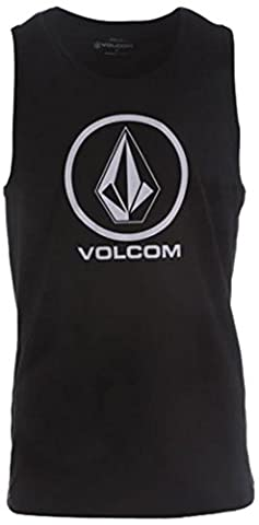 Volcom Circle Stone – Sleeveless Vest – Mens black Black (Black) Size:Medium (Taille fabricant: