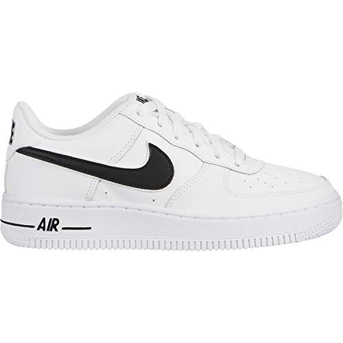 big sale 3026e 2be53 Nike Jungen Air Force 1-3 (gs) Basketballschuhe Weiß (White Black