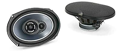 "JL Audio Evolution TR690-TXi 6x9"" 6"" x 9"" inch 3-Way Triaxial Car Rear Parcel Shelf Speakers - Pair"
