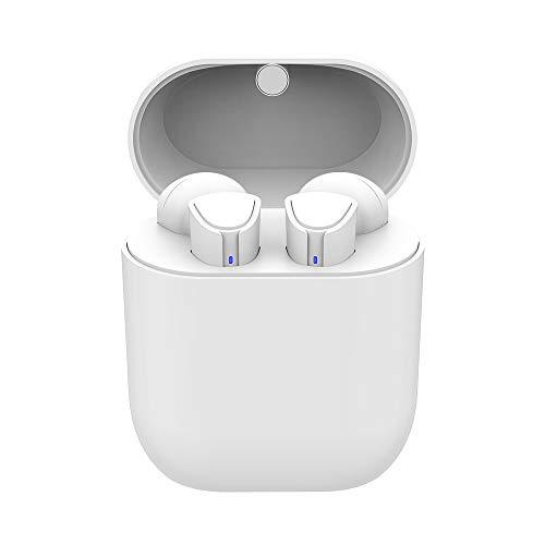 Upgraded Bluetooth Kopfhörer V5.0, In Ear kabellose Ohrhörer,EIN-Tasten-Steuerung,bis zu 35H Spielzeit,Deep Bass HiFi 3D Stereo mit Ladekästchen und Integriertem Mikrofon für Alle Bluetooth-Geräte
