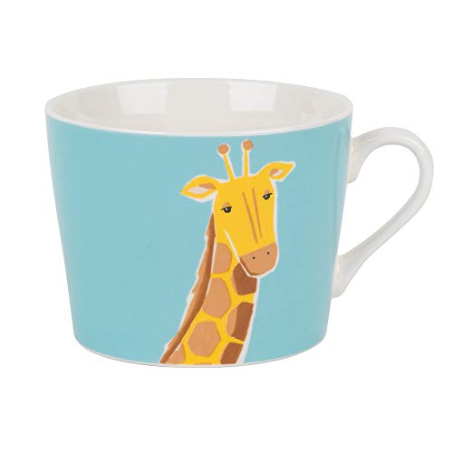 Cambridge cm04673 Newport Tasse en porcelaine fine multicolore Girafe