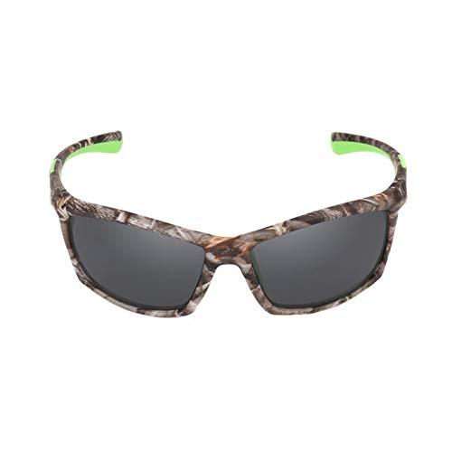 DFIHDCN Sonnenbrillen TR90 + Gummi Polarisierte Sonnenbrille Top Qualität 2019 Camo Rahmen Sport Sonnenbrille Männer Brille UV400 Schatten