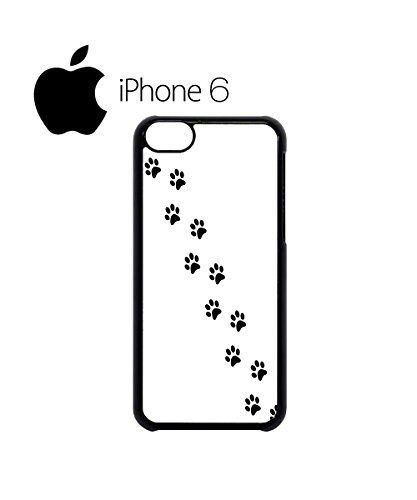 Cat Paw Kitten Meow Cool Swag Mobile Phone Case Back Cover for iPhone 6 Black Blanc