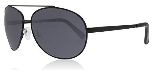 Glare Eyewear Maui-Aviator-Sonnenbrille in schwarz RHS89 One Size Grey