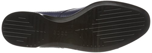 Ecco Damen Incise Enchant Plateau Ballerinas Blau (Blue Iris)