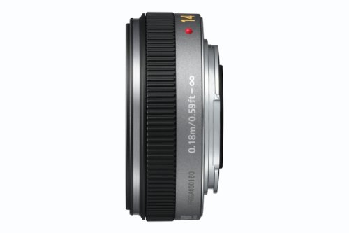 Maxsimafoto LH-46GF LH46GF Lens hood Compatible with Panasonic LUMIX G 14mm // F2.5 ASPH and LUMIX G 20mm // F1.7 ASPH Lenses HH020.. as H-H014 /& H-H020 HH014