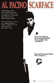 1art1 13816 Poster Scarface Al Pacino Film 91 X 61 cm