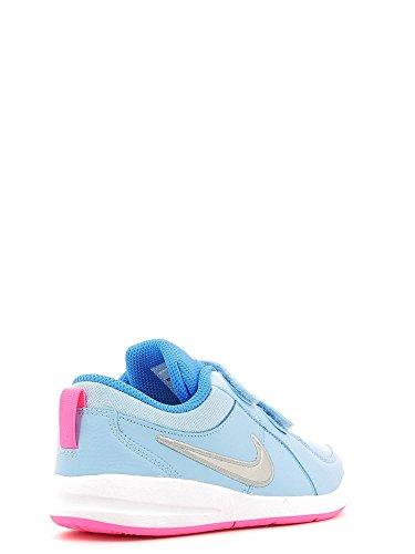 Nike - Pico 4 (Psv), Scarpe da ginnastica Bambina Azul (Bluecap / Metallic Silver-White-Photo Blue)