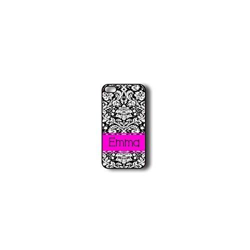 krezy monogramme iPhone 6Plus Coque, coloré Motif damas iPhone 6Plus Coque Monogramme, MONOGRAMME pour iPhone 6Plus, iPhone 6Plus Coque Housse