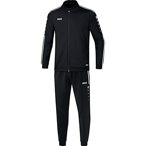 JAKO Kinder Striker 2.0 Trainingsanzug Polyester, schwarz/Weiß, 152