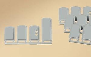 Auhagen 80207Estor Windows Limpiar Kit de Modelado