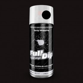 Pintura spray Full Dip Negro mate