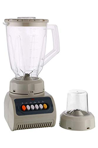 BMS Lifestyle Blender, Household Blender Food Processor with 1500 Milliliter Jar (Off White, 2 Jars)