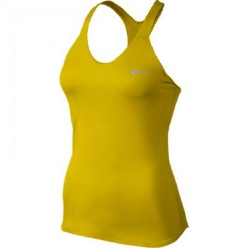 Nike Damen Nike premier maria Tank-Top Bright citron/matte silver, Größe Nike:S -
