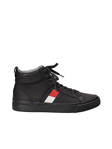 Tommy hilfiger sneaker nera fm0fm01713 nero, 44