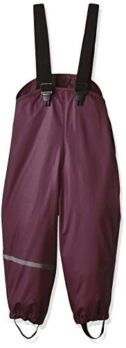 CareTec Mädchen Regenhose 4001 Violett (Grape Wine 657), 104
