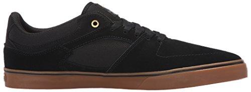 Emerica the Hsu Low Vulc, Chaussures de Skateboard Homme Black