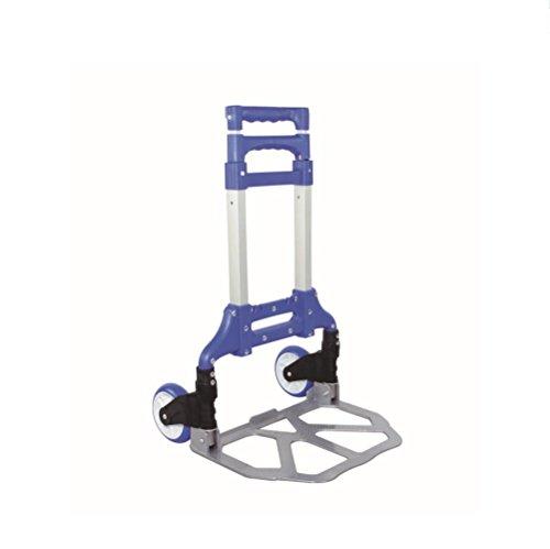 Einkaufswagen-Supermarkt einkaufen Faltbar Klettern die Treppe Aluminiumlegierung Home Carts (Load: 75KG) Erweitern Sie die Größe: 100 * 38 * 42cm , 3
