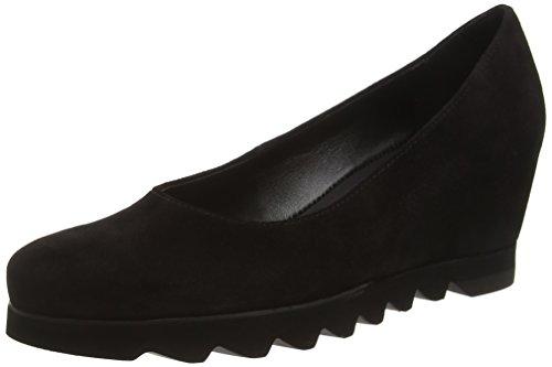 HÖGLWedge - Scarpe con Tacco donna, colore Nero (0100 Nero), taglia 7 UK 41 EU
