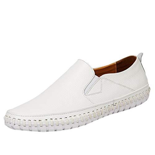 MMLC Mocassini da Guida per Uomo Piatti, Scarpe da Barca Uomo Casual Eleganti Slip On Loafers, Scarpe da Guida