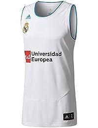 e943b5f3e3caf adidas Real Madrid Fc Camiseta de Baloncesto Temporada 2017 2018