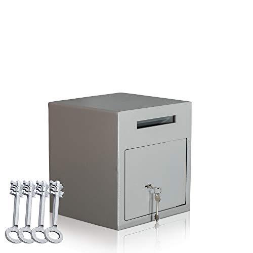 Caja fuerte de depósito   Caja fuerte tipo buzón   caja fuerte con ranura   cerradura con llave  ...