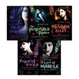 Morganville Vampires, Series 1 By Rachel Caine 5 Books Collection Set (Glass Houses, The Dead Girls' Dance, Midnight Alley, Feast of Fools, Lord of Misrule)