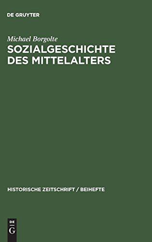 Sozialgeschichte des Mittelalters: Eine Forschungsbilanz nach der deutschen Einheit (Historische Zeitschrift / Beihefte, Band 22)