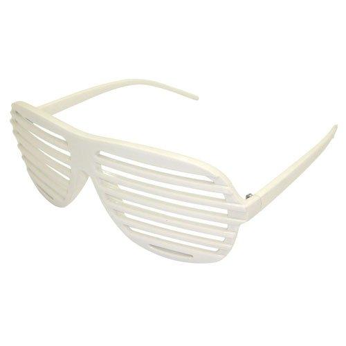 Unisex Herren Damen weiß Kanye West Shutter Shades Sonnenbrille