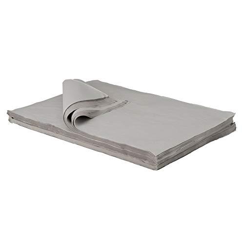 BB-Verpackungen Packseide, 5 kg, 50 x 75cm grau, Seidenpapier Polsterpapier Geschirrpapier Papckpapier thumbnail