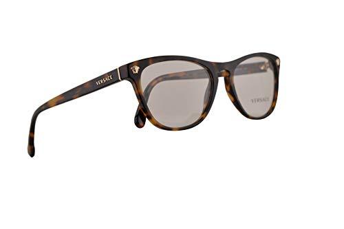 Versace VE3260 Brillen 53-17-140 Havana Mit Demonstrationsgläsern 5267 VE 3260