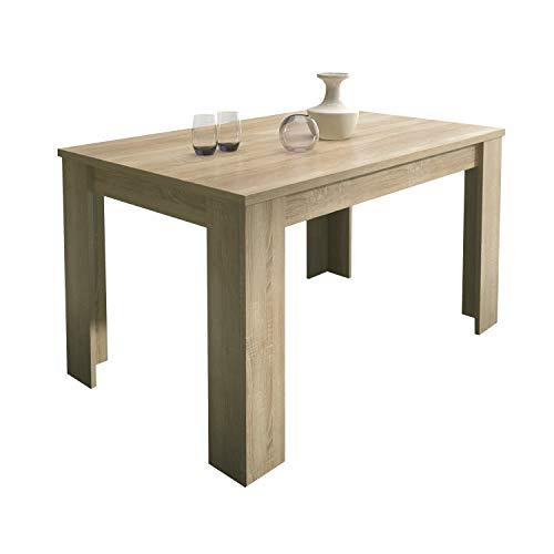 HomeSouth - Mesa de Comedor Extensible, Modelo Corfu Color Cambria ...