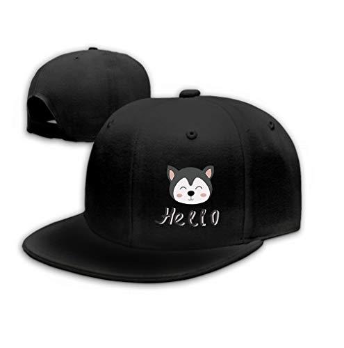 Hip Hop Baseball Cap Hat for Boys Girls Cute Husky Puppy...