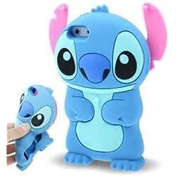 ZIMA® Coque Housse Etui en Silicone Pour Iphone 6 / 6S ( 4,7'' ) - Lilo & Stitch - Bleu