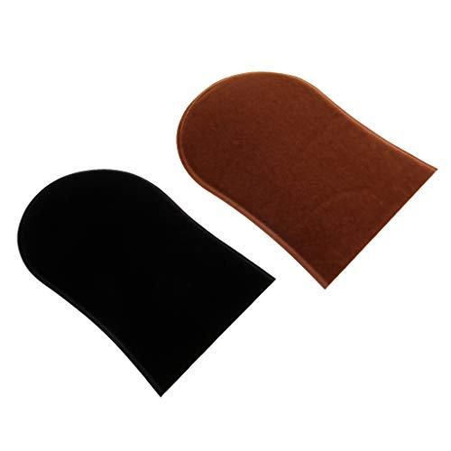 B baosity guanto applicatore autoabbronzante riutilizzabile impermeabile per un'applicazione abbronzante, l'applicazione autoabbronzante spruzzo, 2 pezzi