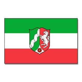 Outdoor - Hissflagge Nordrhein Wesfalen 90 * 150 cm Flagge