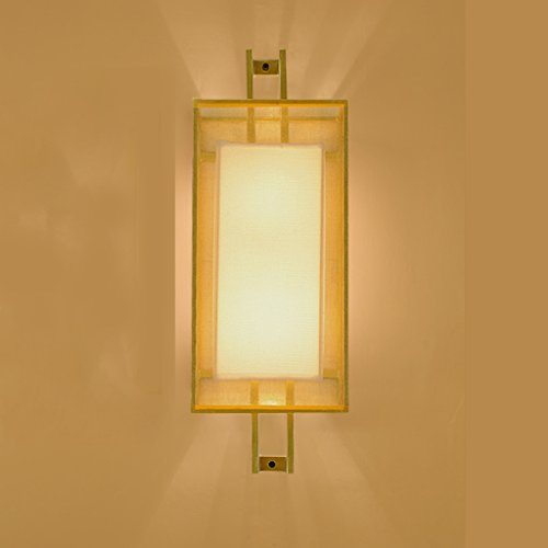 moderno nuovo Chinese wall/Soggiorno camera da letto comodino lampada/ muro di luce/Passerella rettangolare da parete lampada ferro/[hotel