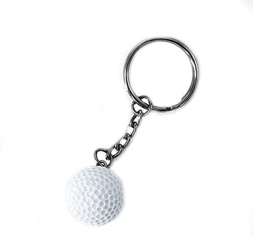 Golf Golfball Schlüsselanhänger 2cm