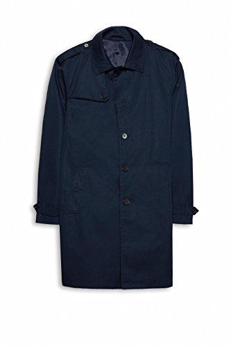 ESPRIT Collection Herren Mantel Blau (Navy 400)