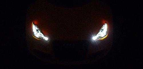 Original Audi Junior quattro Audi Bobby Car vegasgelb mit LED Beleuchtung 3201700400 - 5