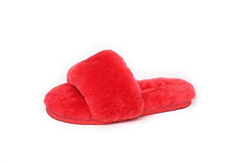 adeesu-zapatillas-de-estar-por-casa-para-mujer-color-rojo-talla-355