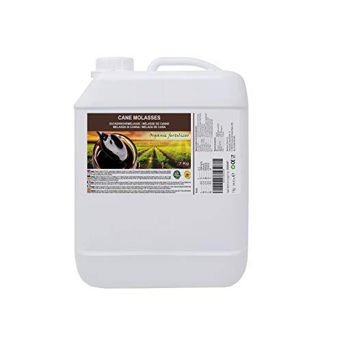 Melaza de caña 7kg, fertilizante natural. Enriquecida en minerales. Producto CE.