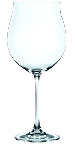 Spiegelau & Nachtmann, Set de 4 Pièces de Verre à Bordeaux, Verre en Cristal, 897 ML, Vivendi, 0085693–0